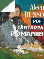 Russo Alecu - Cantarea Romaniei (Aprecieri)