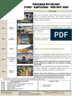 Program Wycieczki Tunis Kartagina