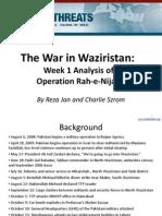 Waziristan Operation (Rah-e-Nejad) Week One