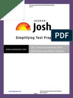 SSC SSC Junior Engineering Exam 2013 Question Paper Paper II