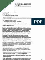Public Administration Unit-91 Problems and Prospects of Panchayati Raj
