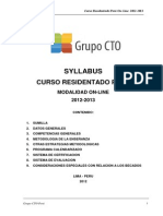 Syllabus Curso Rp on-line 2012-2013