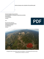 The Gold Mine of Sakdrissi_Results and Analyses and a Calculation of the Prehistoric Gold-exploitation