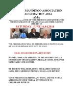 Arizona Mandingo Association Inauguration Flyer 5
