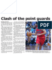 Clash of the point guards (The Star, April 18, 2014)