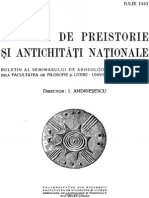 Revista de Preistorie Si Antichitati Nationale Anul II 1940