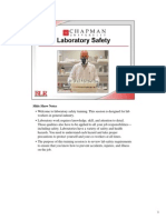 Laboratory Safety Power Point