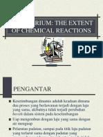 Prinsip – Prinsip Kesetimbangan Kimia