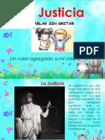 La Justicia - 1er Grado de Primaria