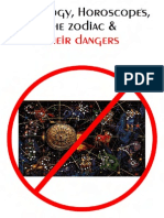 Astrology Horoscopes the Zodiac Their Dangers
