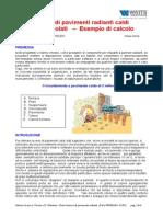 Resa Termica Pavimenti Radianti Caldi - 1 Parte