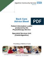 AS_PD_LFT_0275 - Back Care Advice Sheet - A4