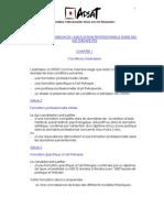 APSAT critères