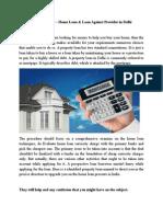 Home Loan Provider in Delhi-AllWealthDeals
