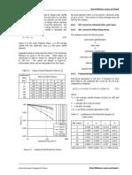 Design Rainfall Table
