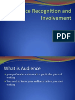 1 Audience Recognition