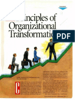 12 Principles of Organizational Transformation
