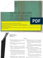 Notes of Lectures on Economics by John Maclean for the Scottish Labour College-libre