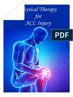 Physical Therapy for ACL Injury
