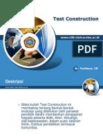 S2 KEPERAWATAN (Test Construction)