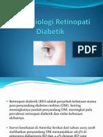 Epidemiologi Retinopati Diabetik