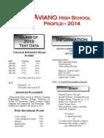 2014 student profile