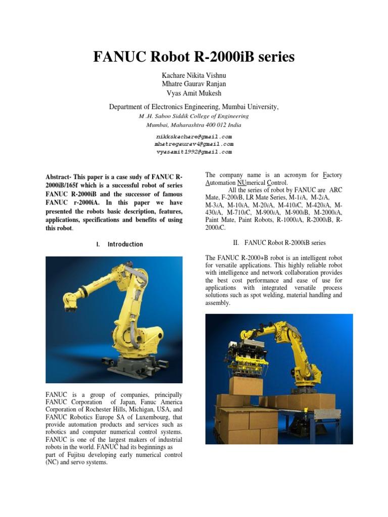 Fanuc Robot | Robot | Tecnología