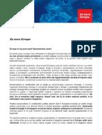 Program SD - Za novo Evropo