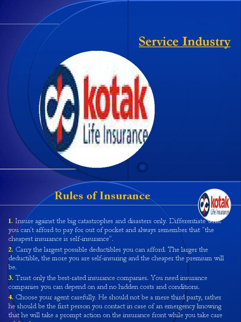 Kotak Life Insurance_Final | Life Insurance | Insurance