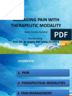 Managing Pain With Therapeutic Modalities - Kiky