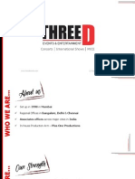 Three D Entertainment - Profile 2014