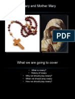 Rosary and Mother Mary