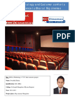 MBA Project- Big cinemas