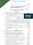 Manufacturing Process 3 Jan 2014