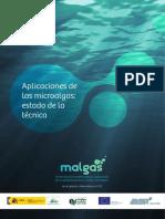Aplicaciones de Las Microalgas Estado de La Tecnica
