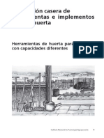 Fabricacion Casera de Herramientas Para El Huerto