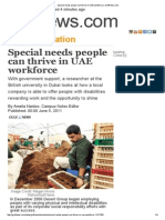 special needs people can thrive in uae workforce   gulfnews
