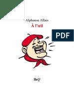 Allais Oeil