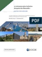 Rapport de l'OCDE sur la métropole d'Aix-Marseille-Provence