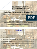 Bijapur and its sights from the Adil Shahis