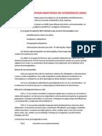 Analgésicos Antiinflamatorios No Esteroídicos
