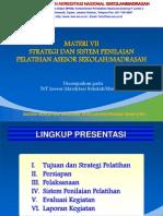 Strategi Dan Sistem Penilaian Asesor