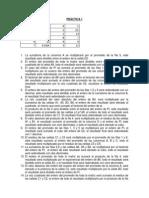 Práctica 1 Excel
