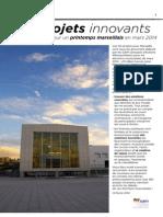 50 projets innovants pour Marseille et la Métropole
