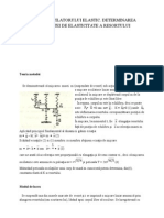 Determinarea Constantei Elastice Refacut