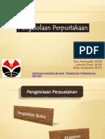 Dra. Hj. Permasih, M.pd.-Pengolahan Dan Pelayanan Perpustakaan