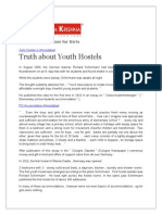 Truth about Youth Hostels