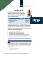 2012 EU Legislation Food Control