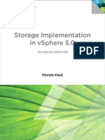 Storage Implementation in VSphere 5