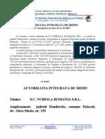 16956_17 SC Nubiola Romania SRL Sucursala Doicesti Revizuita 31.10.2007